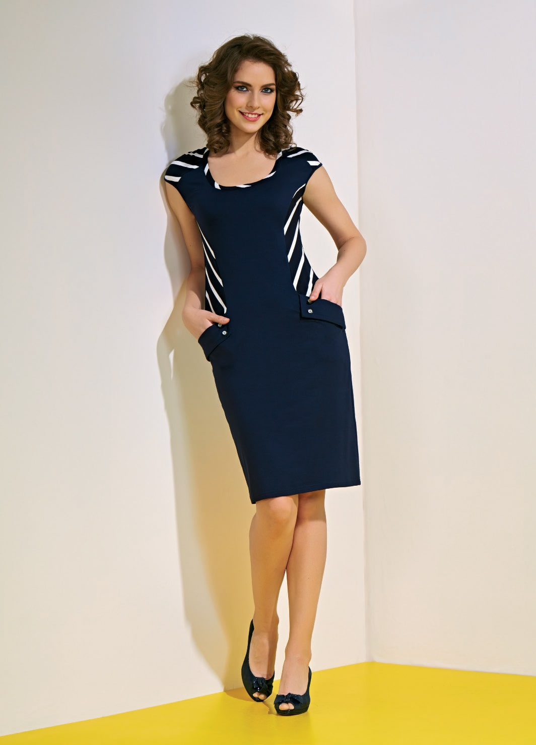 стильное летние платье