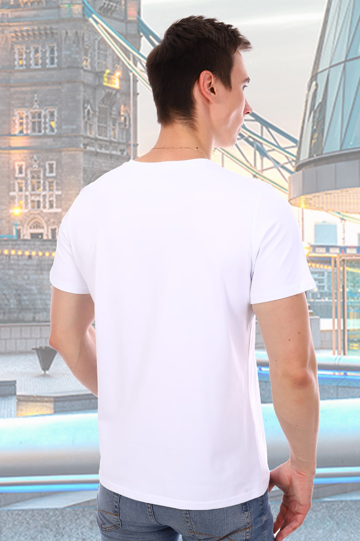 Белая футболка мужская Berchelli