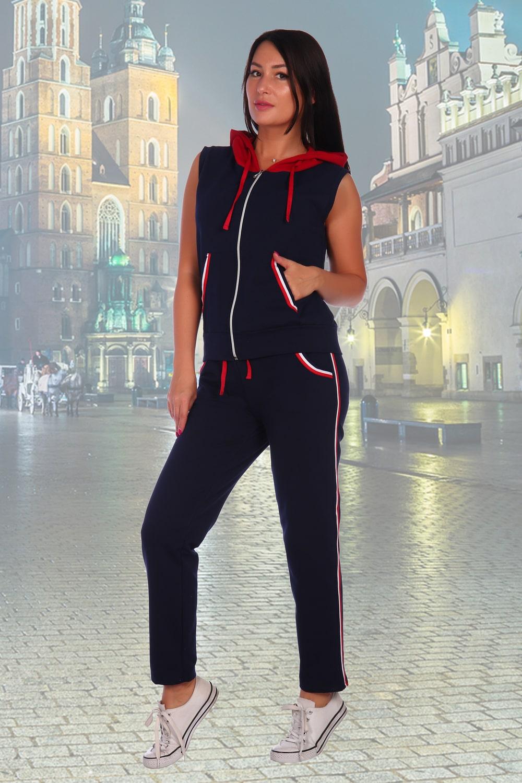 Спортивный костюм с жилеткой