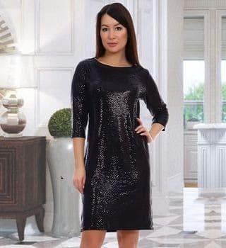 Вечерние блестящее платье Natali