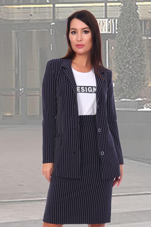Удлиненный женский пиджак