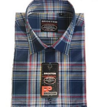 Рубашка мужская в клетку Brostem SH6