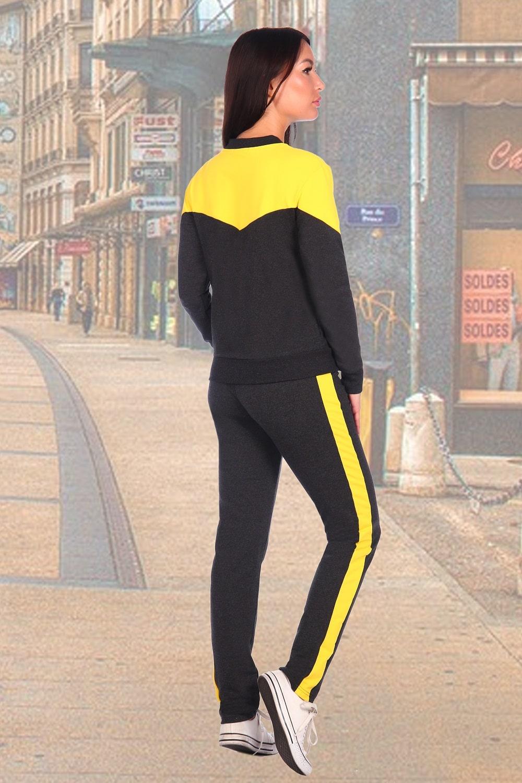 Спортивный костюм с желтым