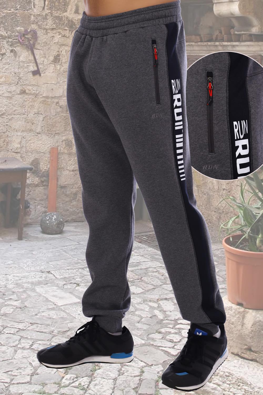 Теплые спортивные брюки мужские Berchelli