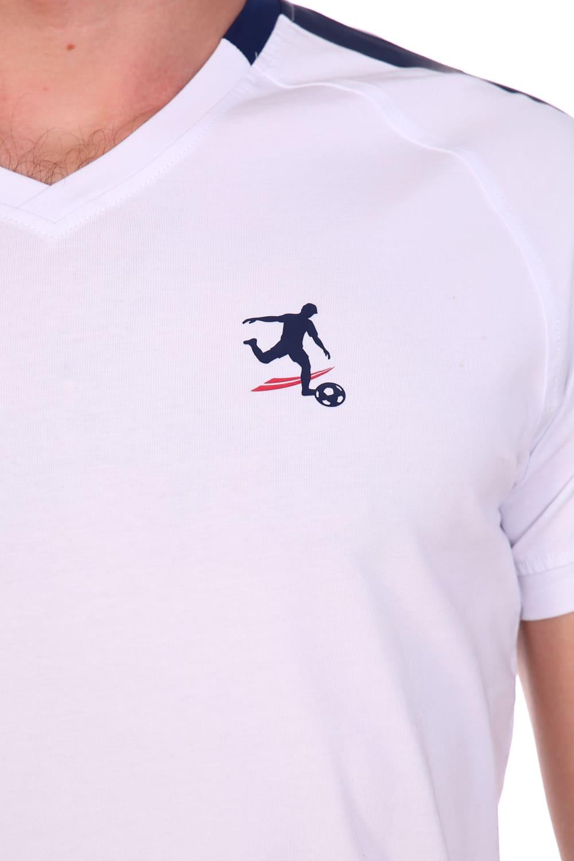 Футболка белоснежная  мужская