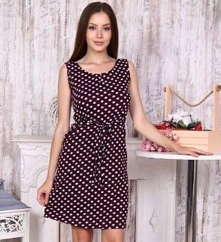 Платье в горошек Natali
