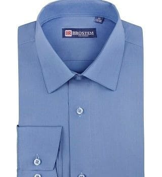 Рубашка мужская однотонная Brostem CVC95