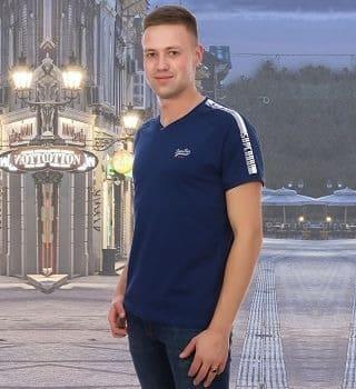 Стильная мужская футболка Brostem