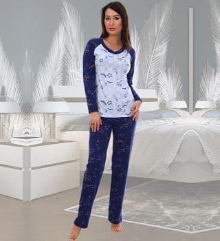 Женская хлопковая пижама Natali