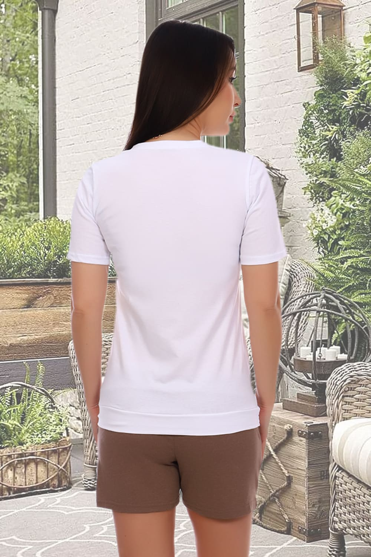Женский домашний костюм с шортами