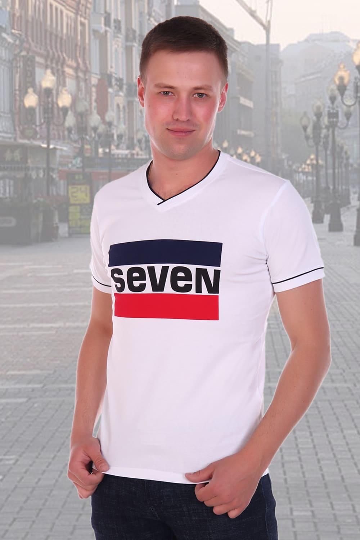 белоснежная  футболка с надписью