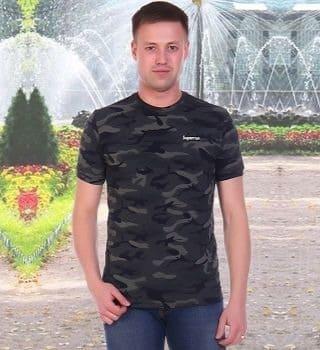 камуфляжная футболка