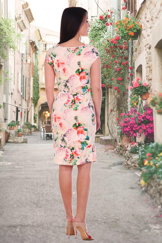 Летнее платье с краска ами