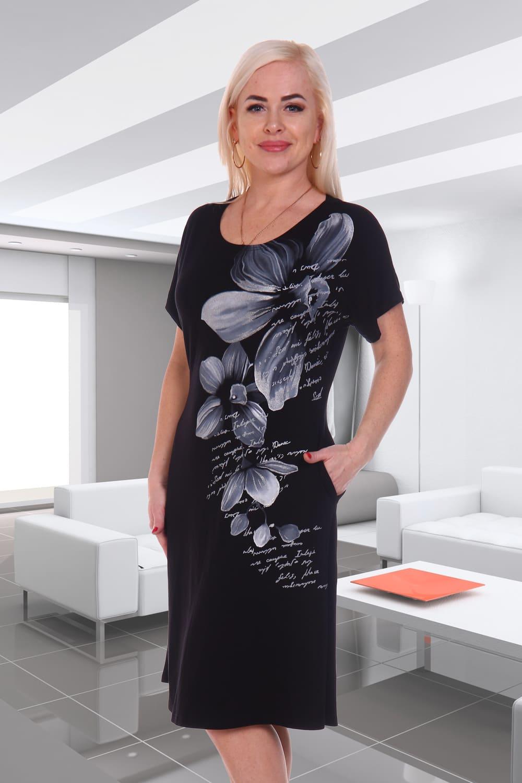 недорогое черное платье