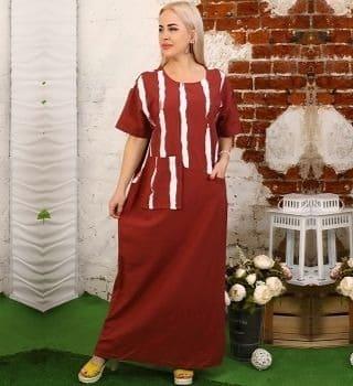 Длинное платье на лето Natali