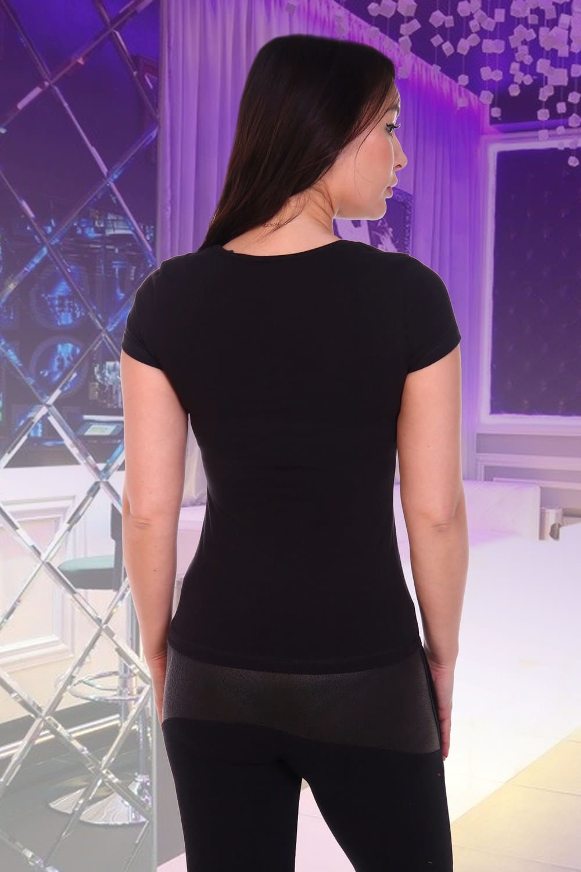 Черная футболка Star