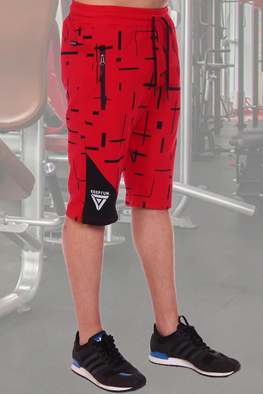 красные шорты мужские