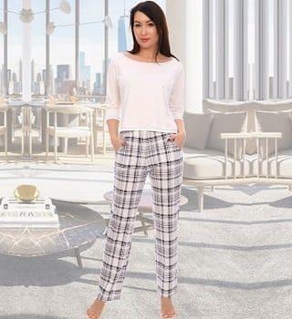 пижама женская с брюками
