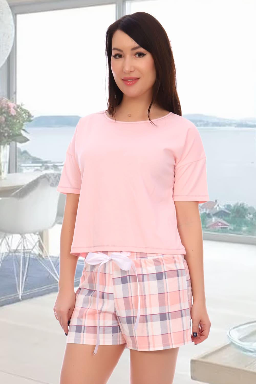 розовая пижама с шортиками