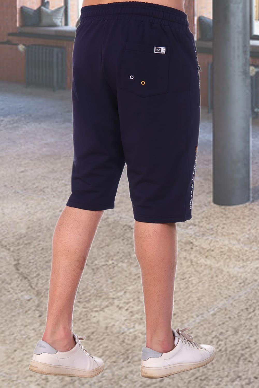 Темно синие шорты мужские Berchelli