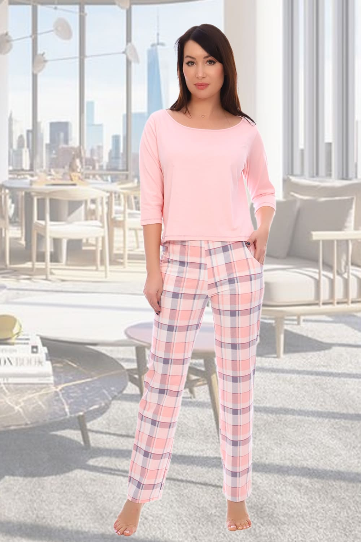 женская пижама с брюками