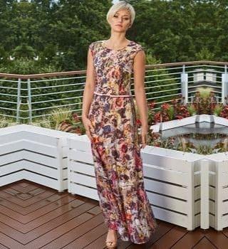 Длинное платье на лето Flaibach 082S9