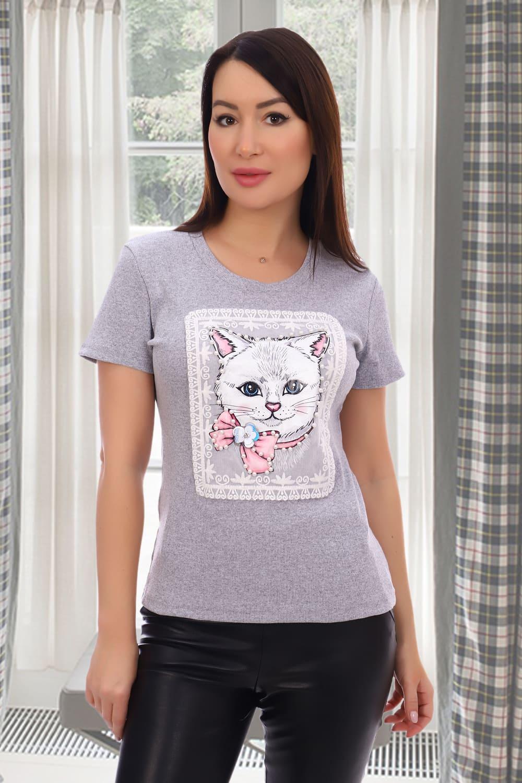 красивая женская футболка