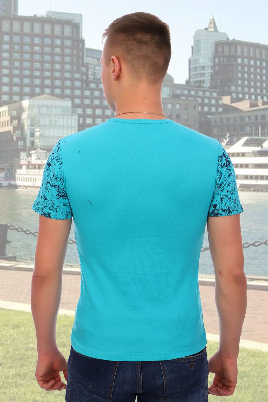 Брендовая мужская футболка Berchelli 5922