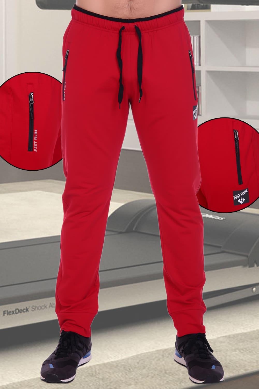 красные спортивные брюки  мужские