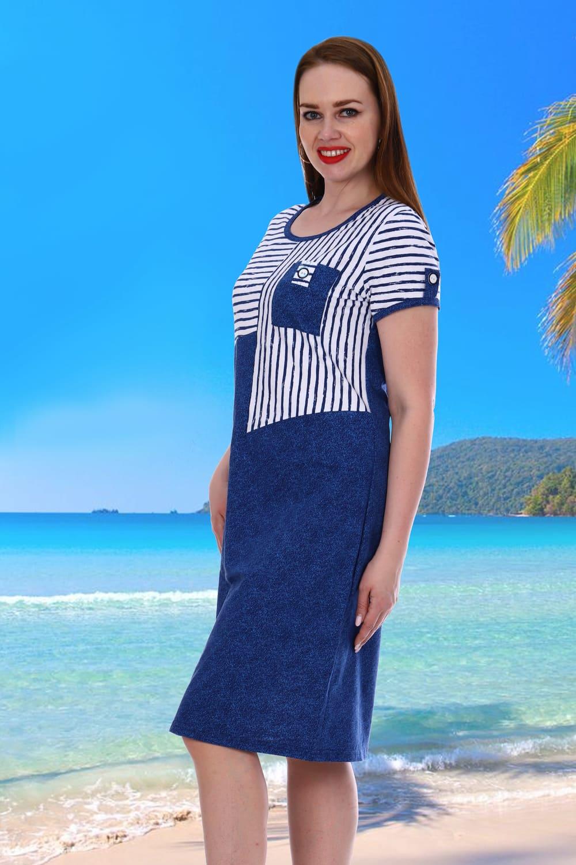 Простое летнее платье хлопковое Natali