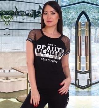 Модная футболка Beauty