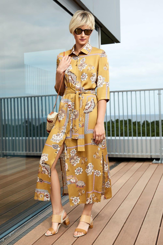 платье из естественной  ткани
