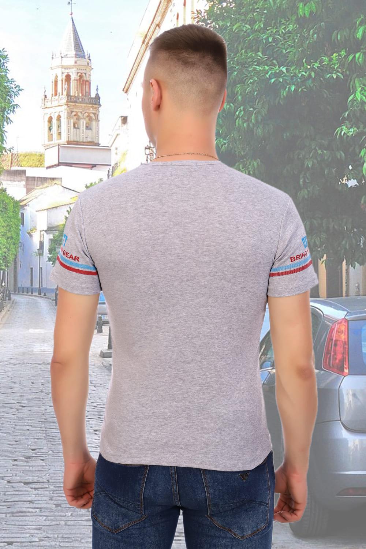 Серая футболка Berchelli 5921