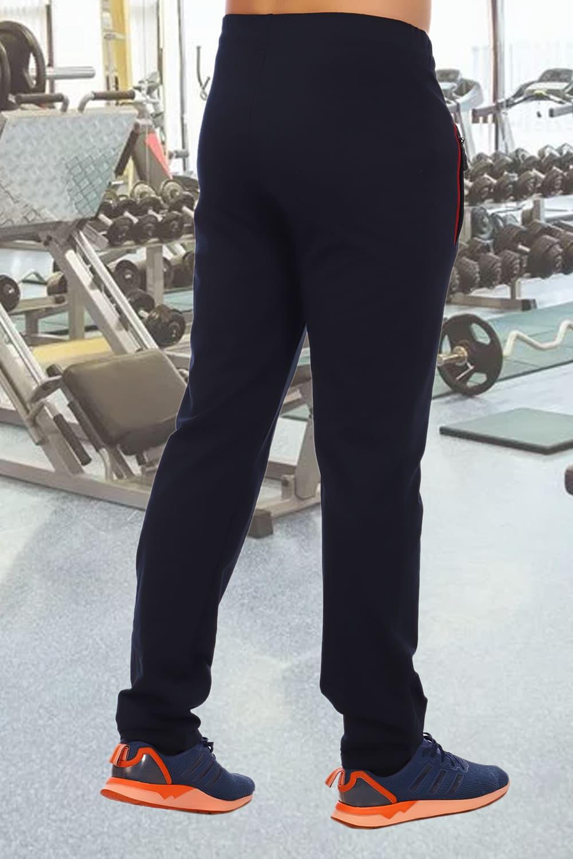 Спортивные штаны темно синие Berchelli 3444
