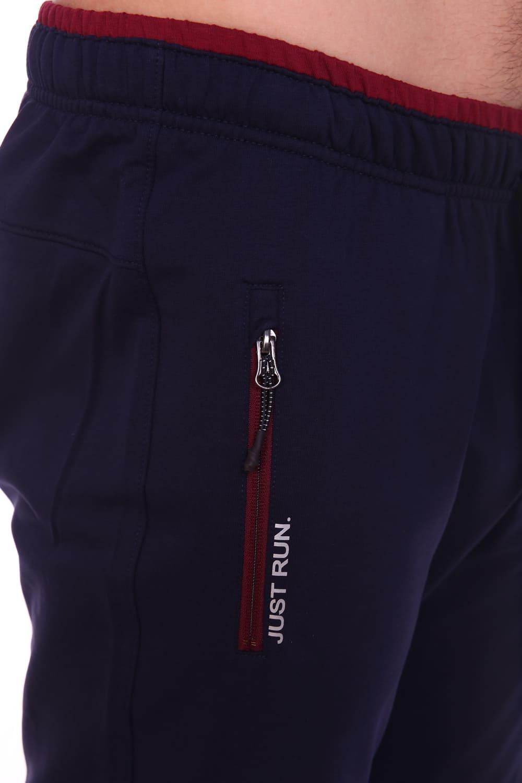 Темно-синие спортивные брюки со шнурком Berchelli