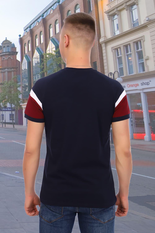 Темно-синяя футболка для бега Berchelli