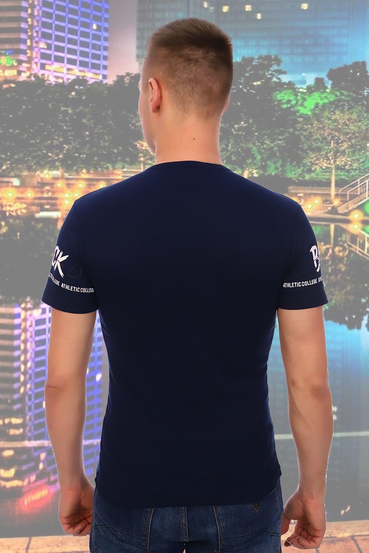 Темно синяя мужская футболка Berchelli 5923