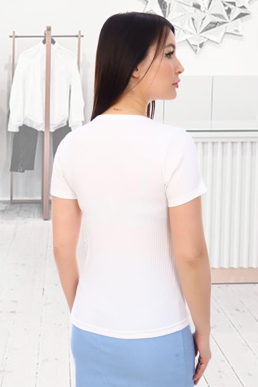 Белая футболка лапша