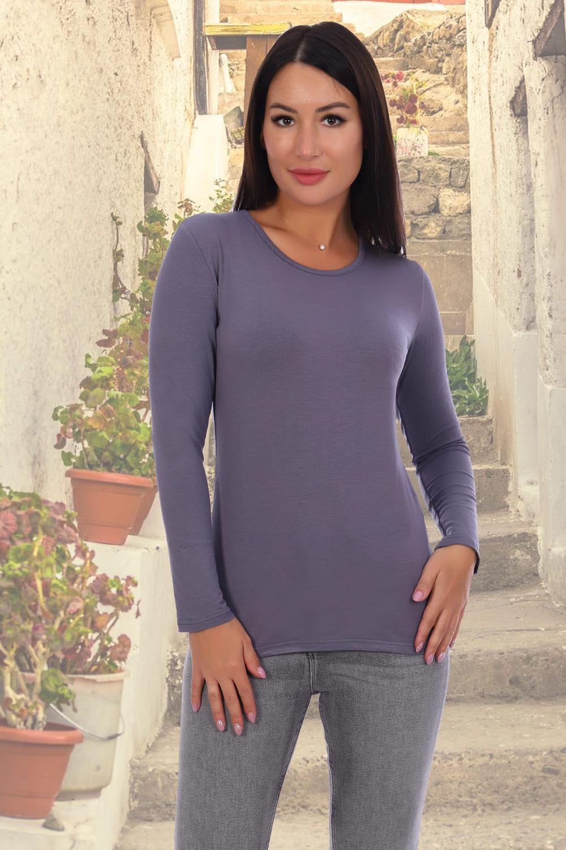 женская футболка длинный рукав