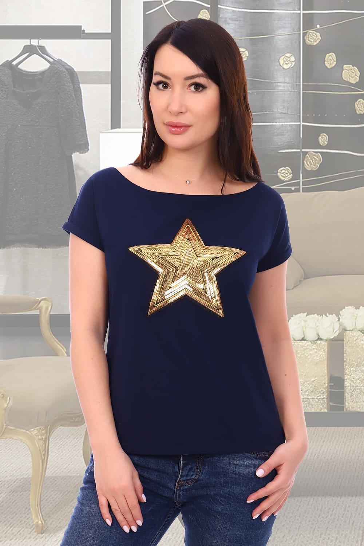 женская футболка со звездой