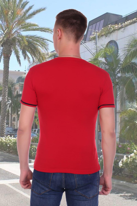 Красная футболка мужская Berchelli