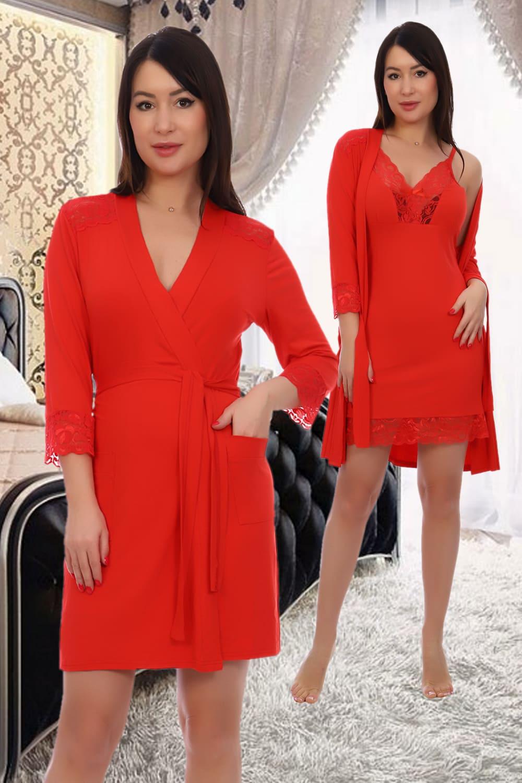 красный халат