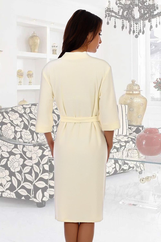 Махровый халат с поясом Natali