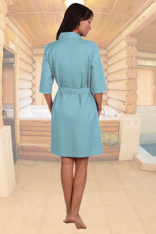 Вафельный дамский  халат Natali