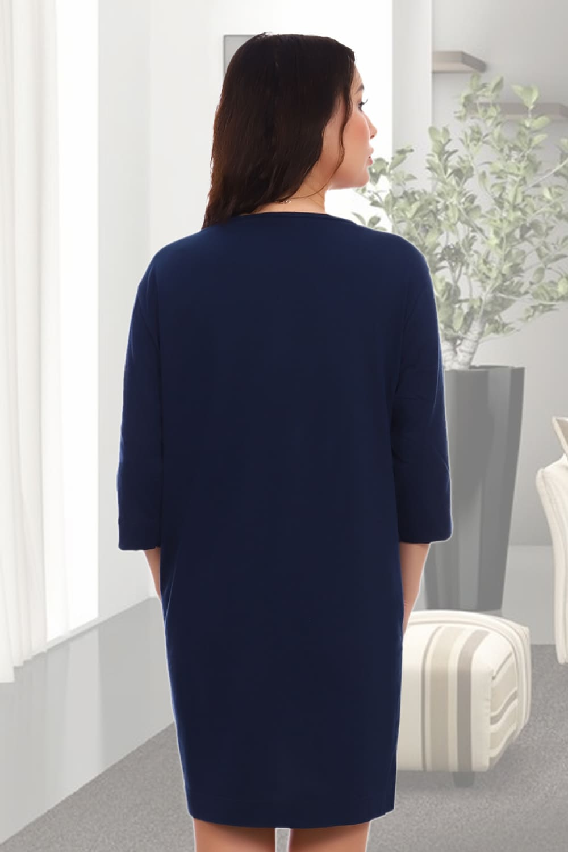 Женский халат  с рукавом три четверти