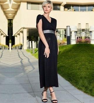 Эффектное длинное платье Flaibach 187S20