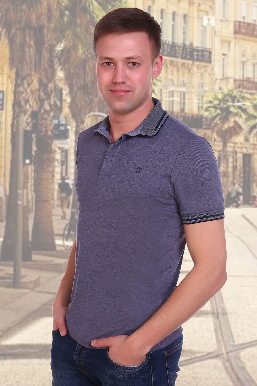 рубашка поло с кратким  рукавом