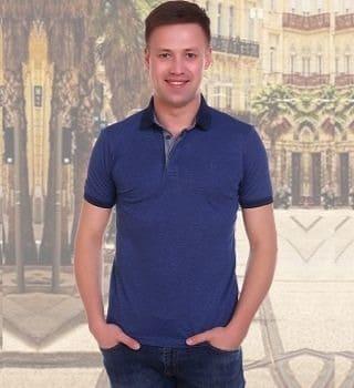 Рубашка поло мужская Berchelli