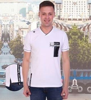 Белая мужская футболка Berchelli