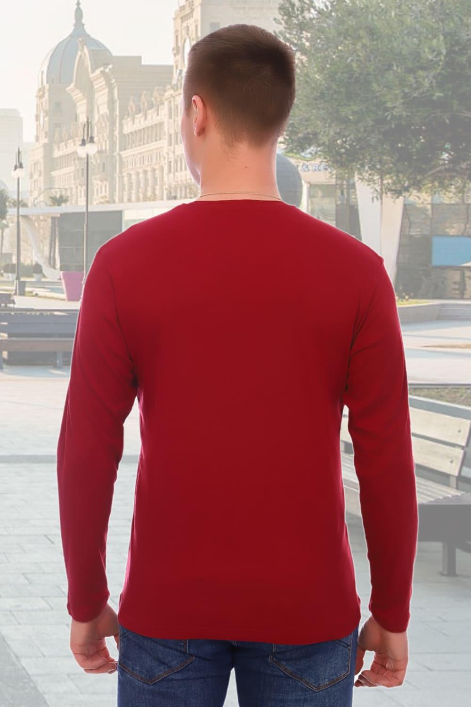 Мужская футболка с долгим  рукавом
